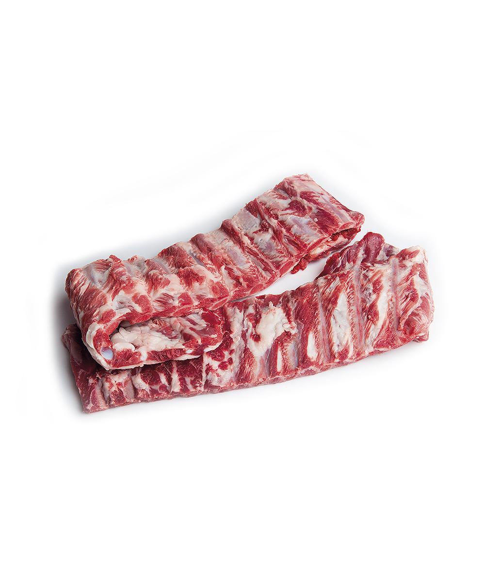 Costilla de cerdo ibérico